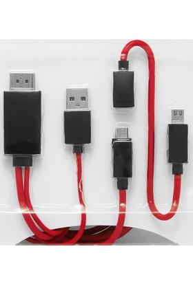 Frisby FA-HD47 Micro USB MHL HDMI Kablo (1.8m)