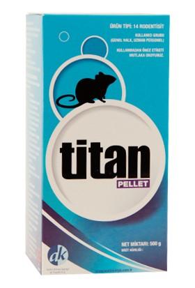 Aydın Kimya Titan Pellet Fare Zehri 500 Gr