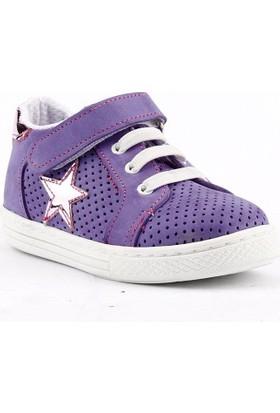 Teo Bebe 3100 Ortopedik Cırtlı Kız Çocuk Ayakkabı