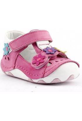 Teo Bebe 3200 Ortopedik Cırtlı Kız Çocuk Ayakkabı