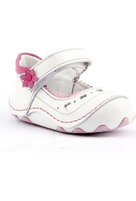Teo Bebe 4100 Ortopedik Cırtlı Kız Çocuk Ayakkabı
