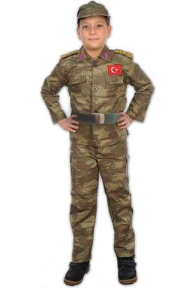 Hkostüm Asker Çocuk Meslek Kostümü