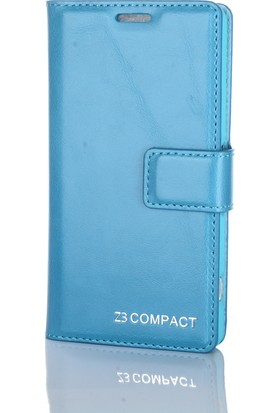 Gpack Sony Xperia Z3 Compact Kılıf Standlı Serenity Cüzdan