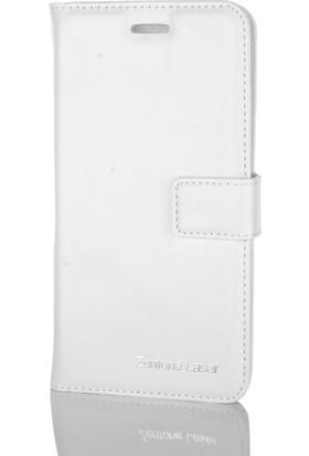 Gpack Asus Zenfone Laser 5.5 Kılıf Standlı Serenity Cüzdan