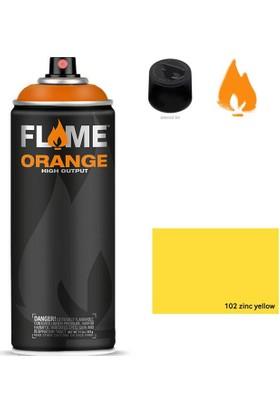 Flame Sprey Boya 400 ML Fo-102 Zinc Yellow