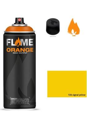 Flame Sprey Boya 400 ML Fo-106 Signal-yellow