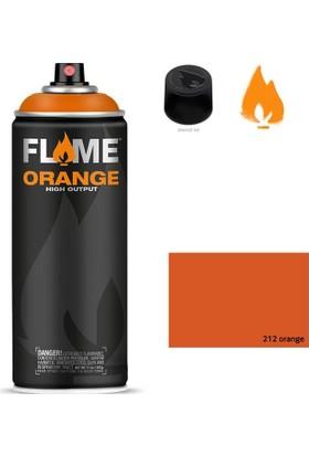 Flame Sprey Boya 400 ML Fo-212 Orange