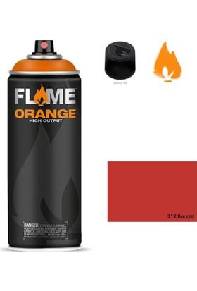 Flame Sprey Boya 400 ML Fo-312 Fire-red