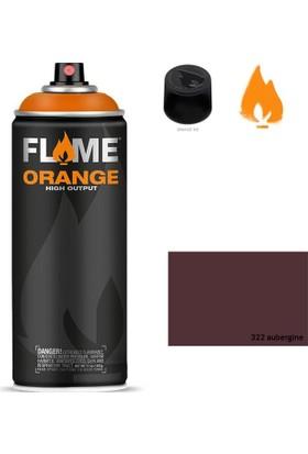 Flame Sprey Boya 400 ML Fo-322 Aubergine