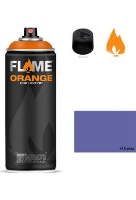 Flame Sprey Boya 400 ML Fo-418 Viola
