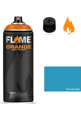 Flame Sprey Boya 400 ML Fo-616 Aqua Light