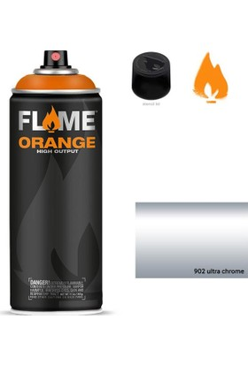 Flame Sprey Boya 400 ML Fo-902 Ultra Chorme