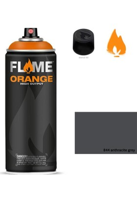 Flame Sprey Boya 400 ML Fo-844 Anthracite-grey