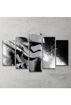 Plustablo Star Wars 5 Parça Kanvas Tablo
