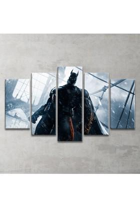 Plustablo Batman 5 Parça Kanvas Tablo