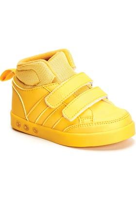 Vicco Çift Cırtlı Işıklı Spor Ayakkabı Sarı