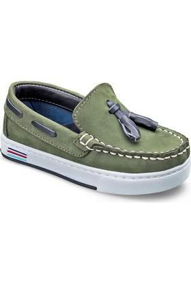 Vicco Bebe Deri Ayakkabı Yeşil