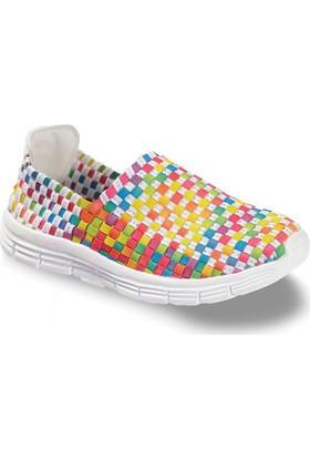 Vicco Kız Casual Ayakkabı Beyaz