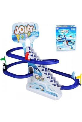 Jolly Pilli Çılgın Merdivenli Kayan Penguenler