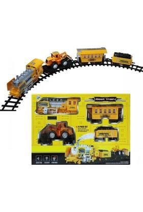 Powerful İnşaat Tren Seti 21 Parça