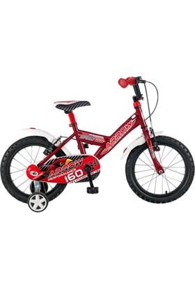 Arrow Kırmızı 16 Jant Çocuk Bisikleti 4 - 7 Yaş Çocuk Bisikleti 1605 Speed