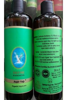 Nuka Aspir Yağı Organik Soğuk Pres 250 ml Aspir yağı