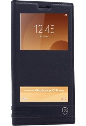 Teleplus Samsung Galaxy C9 Pro Çift Pencereli Kılıf