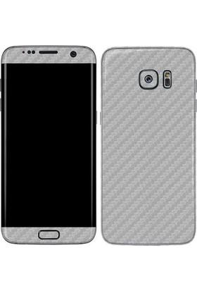 Teleplus Samsung Galaxy S7 Edge Karbon Fiber Cam Ekran Koruyucu Ön Ve Arka