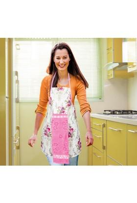 Dekohouse Havlulu Mutfak Önlüğü