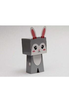 Mevlid Hediyesi Tavşan Karakter Figür Kutu - Mevlüt Şekeri Kutusu