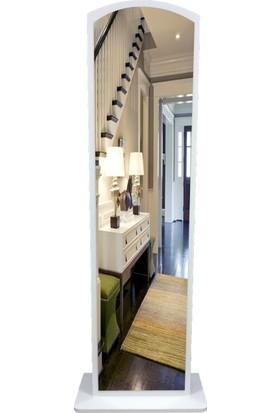First Mobilya Lale Boy Aynası / Beyaz