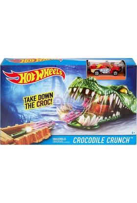 Hot Wheels Çılgın Yaratıklar Crocodile Crunch Oyun Seti