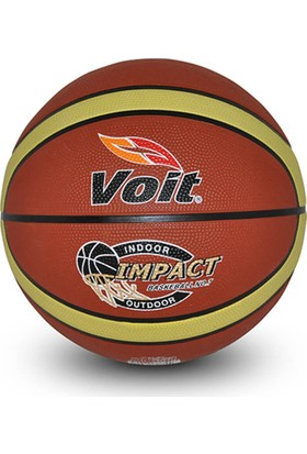 Voit Impact Basketbol Topu Kahve Beyaz N7