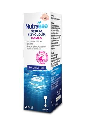 Orzax Nutrasea Serum Fizyolojik Damla 25 Ml
