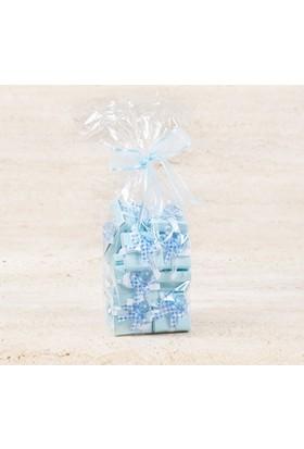 Melodi Çikolata Dekorlu Emzik Mavi Çikolata (400 Gr)
