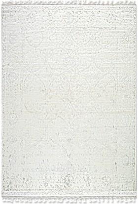 Tuğra Halı La Boutique Saten 200 x 290 01 Beyaz Modern Halı