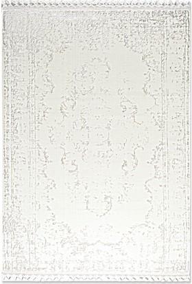 Tuğra Halı La Boutique Saten 200 x 290 02 Beyaz Modern Halı