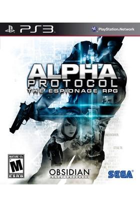 Sega Alpha Protocol Ps3 Oyun