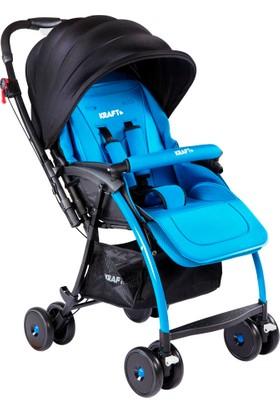 Kraft Pop Çift Yönlü Bebek Arabası Mavi