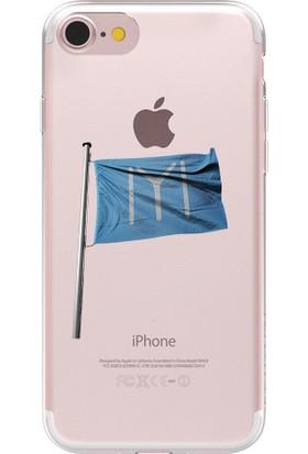 Remeto Apple iPhone 6 Kayı Boyu Bayrağı Resimli Şeffaf Silikon Kılıf