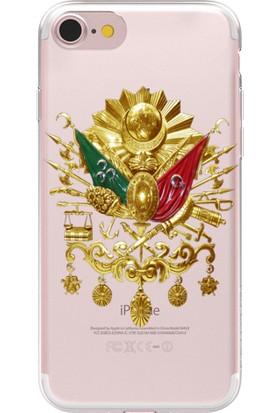 Remeto Apple iPhone 6 Osmanlı Arması Resimli Şeffaf Silikon Kılıf