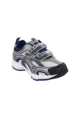 Pediped Mercury Silver Blue Sneaker Gri Çocuk Ayakkabı