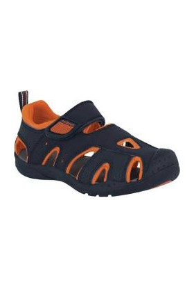 Pediped Shoreline Navy Orange Çocuk Sandalet