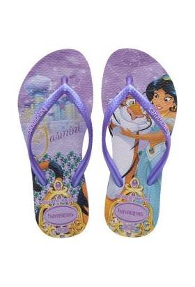 HavaianasKids Slim Princess Lilac Lilacterlik Çocuk Terlik