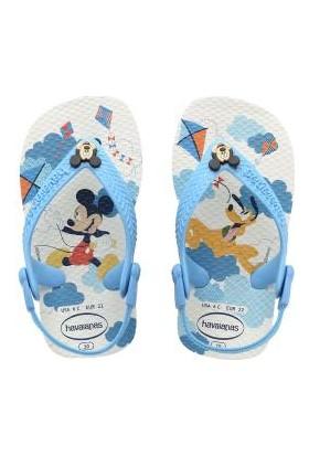 HavaianasBaby Mickey Minnie White Terlik Çocuk Terlik
