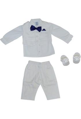 Pugi Baby 2001 Papyonlu Erkek Bebek Mevlüt Takımı