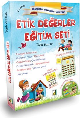 2. Sınıflar İçin Etik Değerler Eğitim Seti (10 Kitap+HDS+CD)