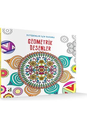 Geometrik Desenler (Yetişkinler İçin Boyama)