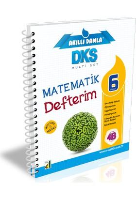 Damla Eğitim Akıllı Damla Matematik Defterim-6. Sınıf