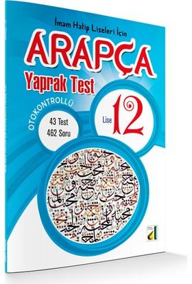 Damla Eğitim Damla Otokontrollü 12. Sınıf Arapça Yaprak Test